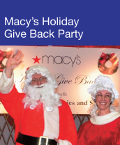 Community Events - 'Macy's Holiday Give-Back Party 2011