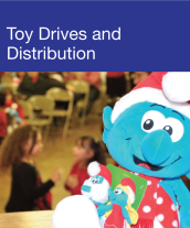 Community Events - Toy Drives & Distribution