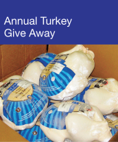 Community Events - Annual Turkey Give Away