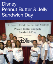 Community Events - Disney Peanut Butter and Jelly Sandwich Day
