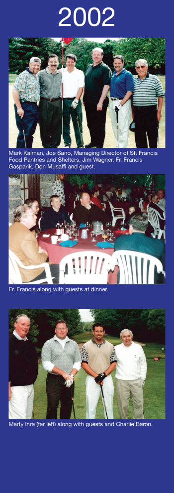 Fundraising - Golf for Hunger & Pool Party 2002