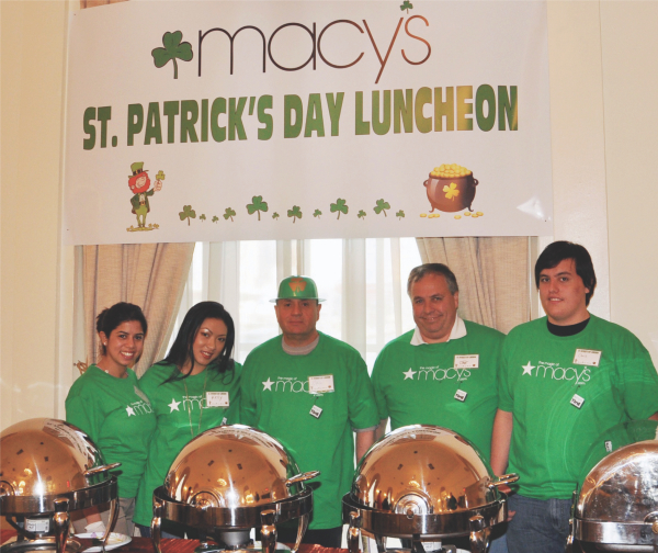 Macy's St. Patrick's Day Luncheon