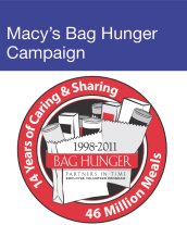 Community Events - Macy's Bag Hunger Campaign