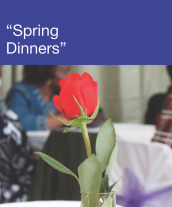 Community Events - Spring Dinners