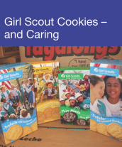 Community Events - Girl Scout Cookies...and Caring