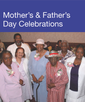 Community Events - Mother's & Father's Day Celebrations