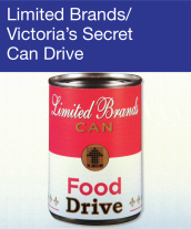 Community Events - Limited Brands/Victoria's Secret Can Drive