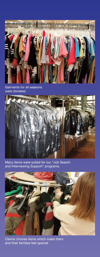 Garment District Clothing Drive Kick-Off