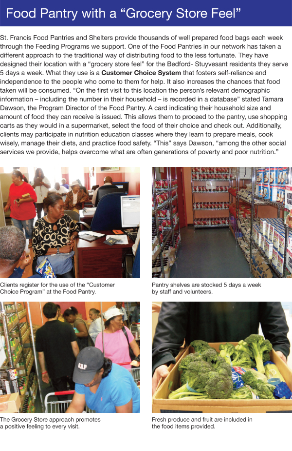 Community Programs - Food Pantry With A 'Grocery Store Feel'