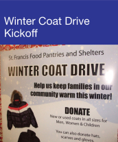 Community Events - Winter Coat Drive Kickoff