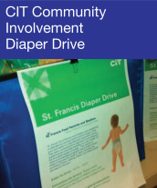 Community Events - CIT Community Involvement Diaper Drive