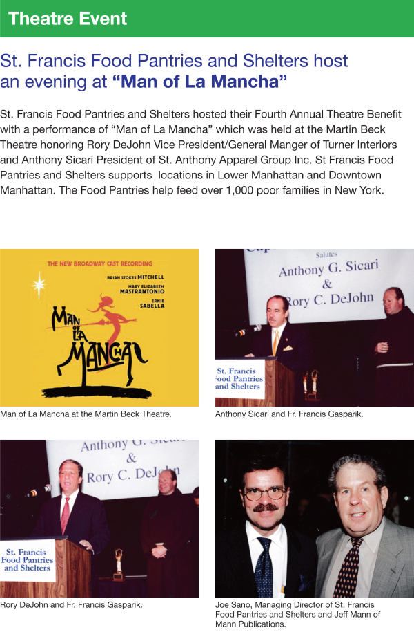 Fundraising - Theatre Event 2003
