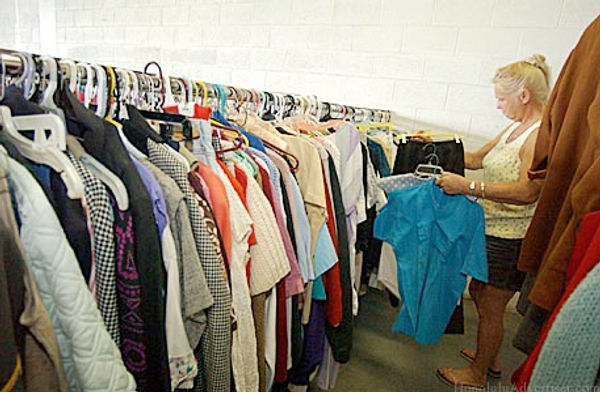 Social Services - Clothing Ministries