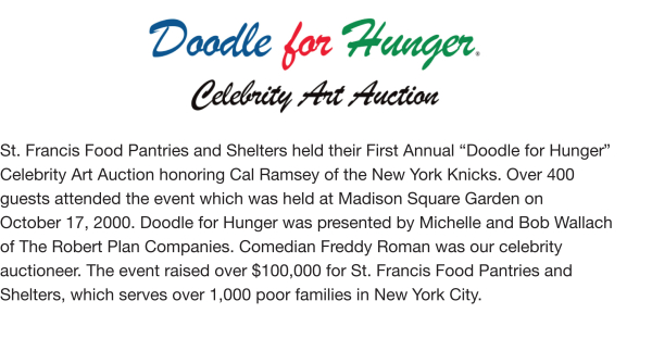 Fundraising - Doodle For Hunger I, 2000
