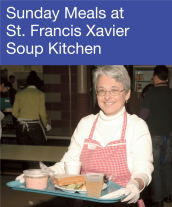 Community Events - Sunday Meals At St. Francix Xavier Soup Kitchen