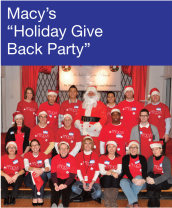 Community Events - Macy's Holiday Give Back Party