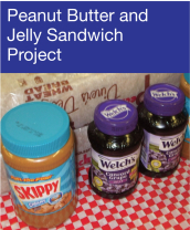 Community Events - Peanut Butter & Jelly Sandwich Project