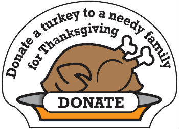 Turkey Donation Button