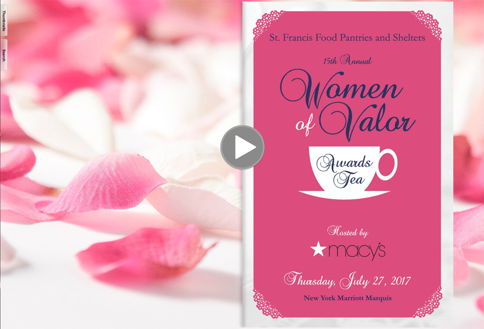 women of valor awards tea - 2017